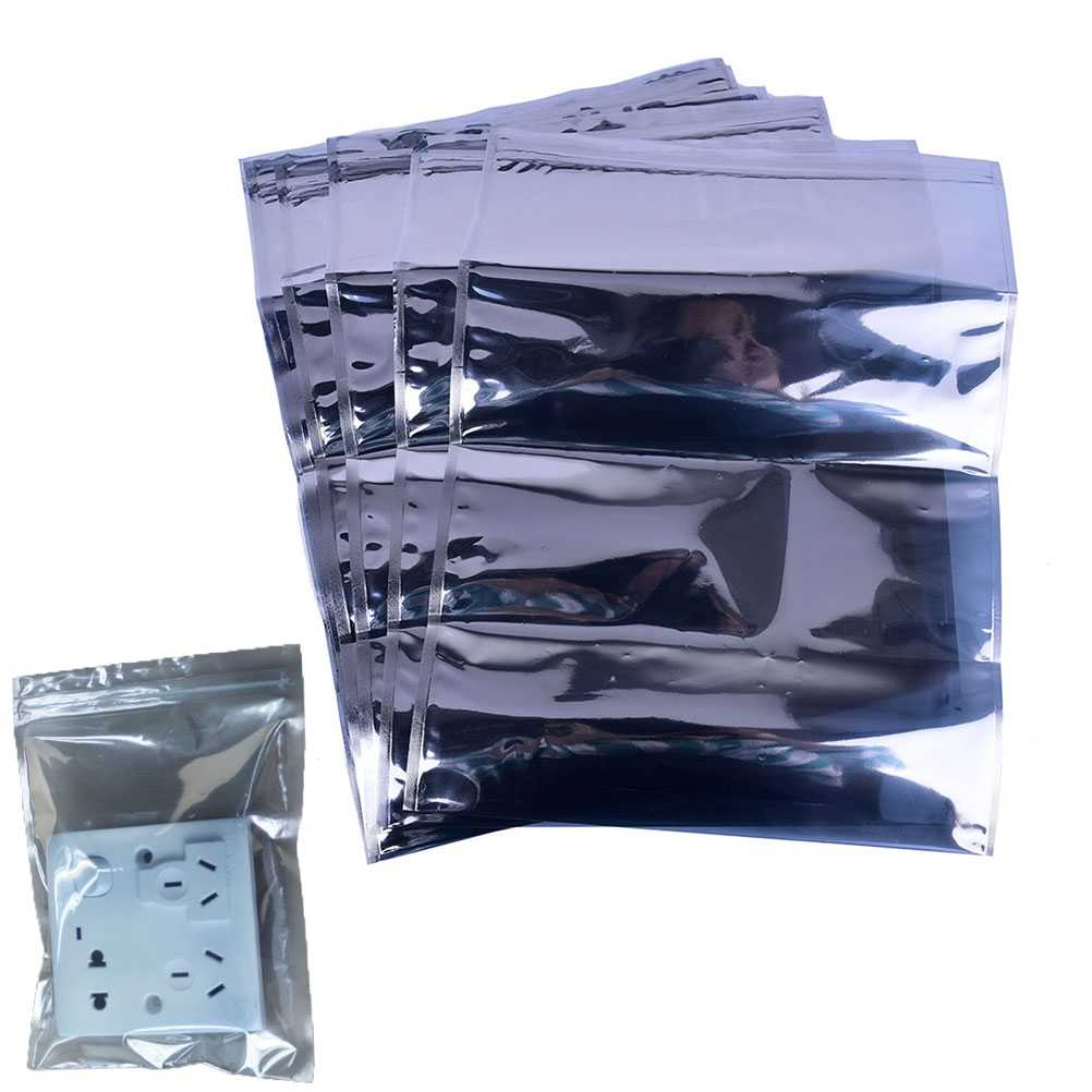 30cm*40cm Anti Static Shielding Ziplock Bag ESD Anti-static Instrument Pack Pouches Waterproof Self Seal Antistatic Bag