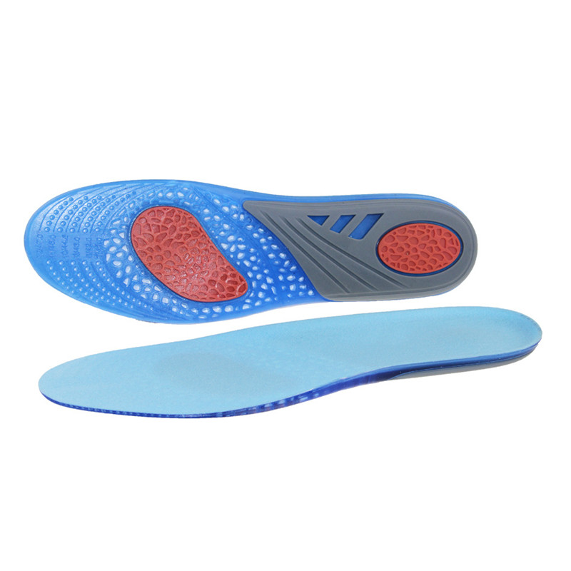 Dycarfell GEL Sports Insoles Unisex-adult inserts with Best buffer and Shock Absorption Relieve Foot Pain and Fasciitis 7.5 -14