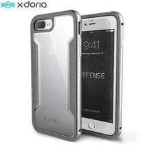 X-Doria Case for iPhone 7 Plus (Defense Shield), Military Grade Drop Tested, TPU & Aluminum Premium Protector iPhone 7Plus Cover