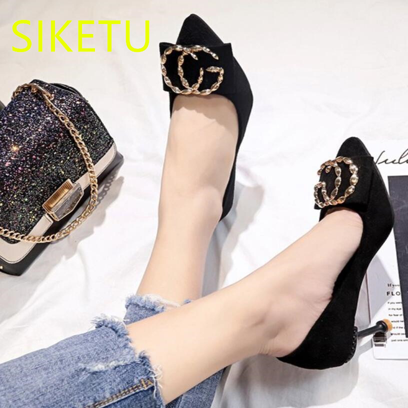 064f51faf1 Buy SIKETU Free shipping spring and autumn Fashion high heels shoes ...