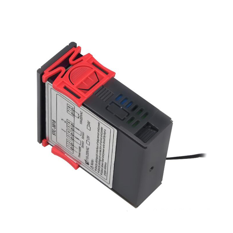 Dual display dual temperature control digital temperature controller relay output thermostat 10A heating and cooling in Temperature Instruments from Tools
