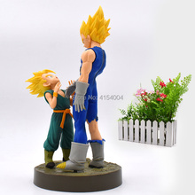 Anime Dragon Ball Z Son Goku Burdock Zamasu Vegeta Nappa Buu Boo Cell Action Figure PVC Figurine Collectible Model Toys 17 cm