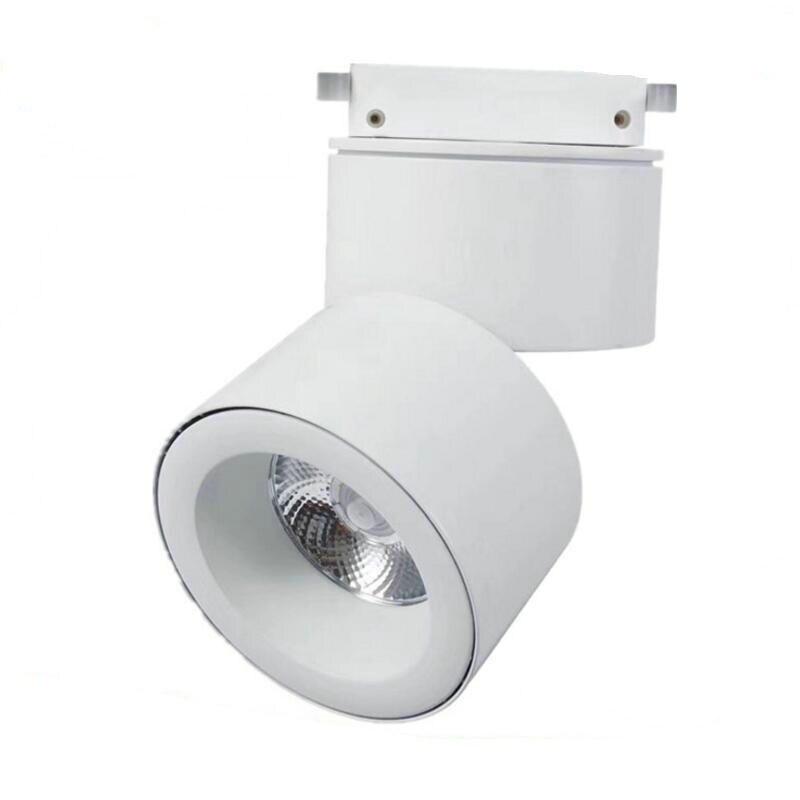 La Surface réglable montée LED vers le bas de la lumière blanc froid chaud 30 W cree LED lumière de voie COB lampes LED éclairage d'intérieur de tache à la maison