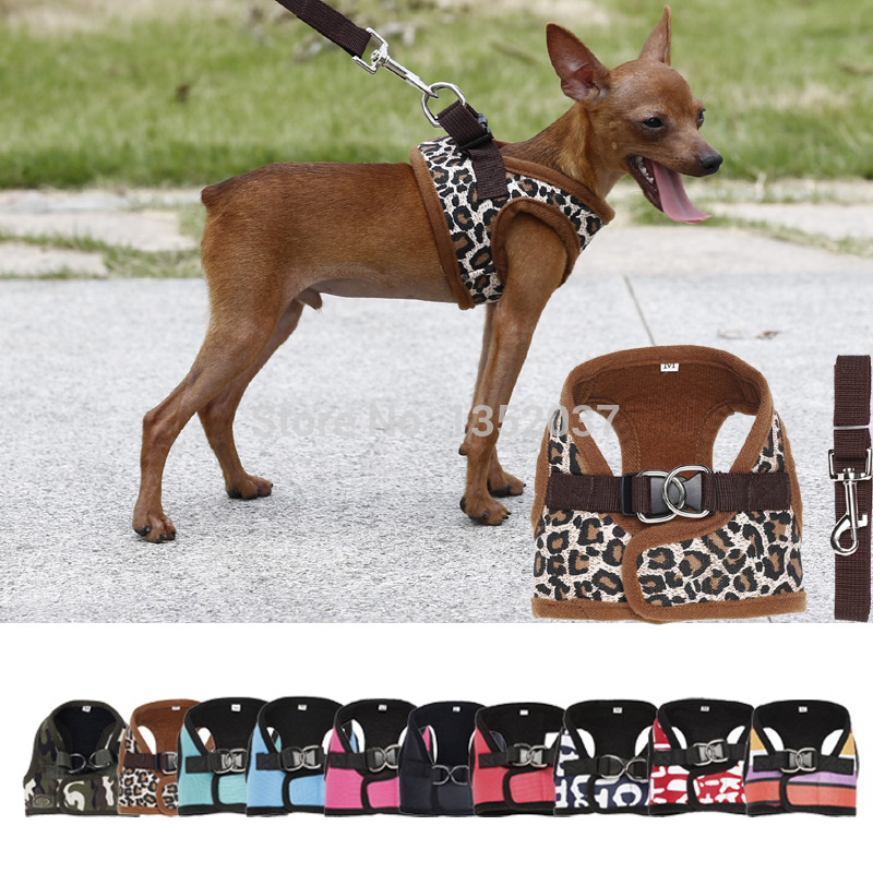 Winter wear padded Vest Harness for Dogs Puppy Cats Pets ...
