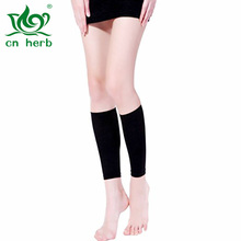 cn herb Slimming Leg Compression Sleeve Shaper Weight Loss Wrap Belt , Skin