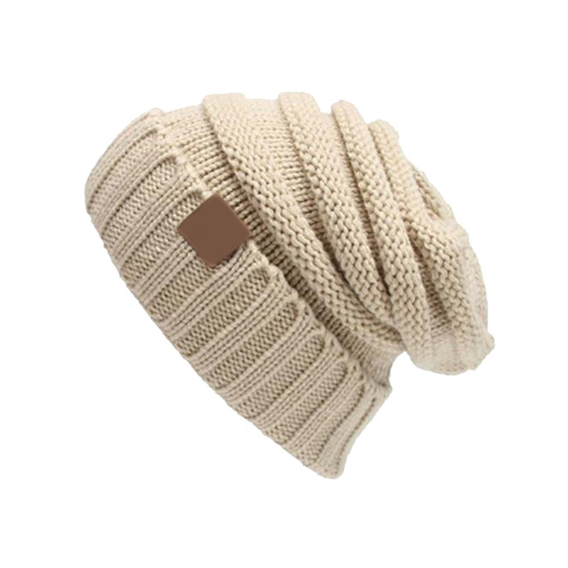 Fashion Women Casual Beanies Skullies Warm Stripes Knitted Gorros Bonnet Winter Hat Knitted Cap Hats Female Warm thick Soft Caps skullies beanies the new russian leather thick warm casual fashion female grass hat 93022