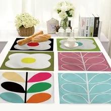 PVC Plastic Round Dining Mat Table Decor Cup Mat Flower Lace Placemat CS