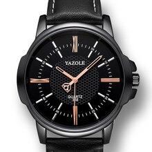 YAZOLE Wrist Watch Men Watches Business Style Famous Brand Male Quartz Watch For Men Clock Wristwatch Hours Relogio Masculino