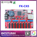 feikong FK-CX5 led controller card ethernet port LED control card 128*904 pixel p10 running text outdoor led display screen