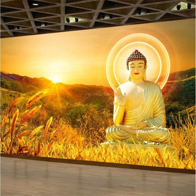beibehang Large Custom Wallpapers HD Buddha Buddha Background Wall Paintings Decorative Paintings photo wallpaper
