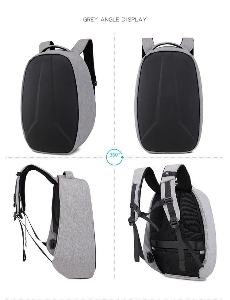 anti-roubo computador viagem bagpack usb carregamento volta mochila hombre plecak