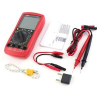 Digital Multimeter UNIT DC/AC Voltage Current Meter Handheld Ammeter Ohm Diode Capacitance Tester 1999 Counts Multitester