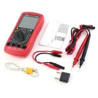 Digital Multimeter UNIT DC/AC Voltage Current Meter Handheld Ammeter Ohm Diode Capacitance Tester 1999 Counts Multitester