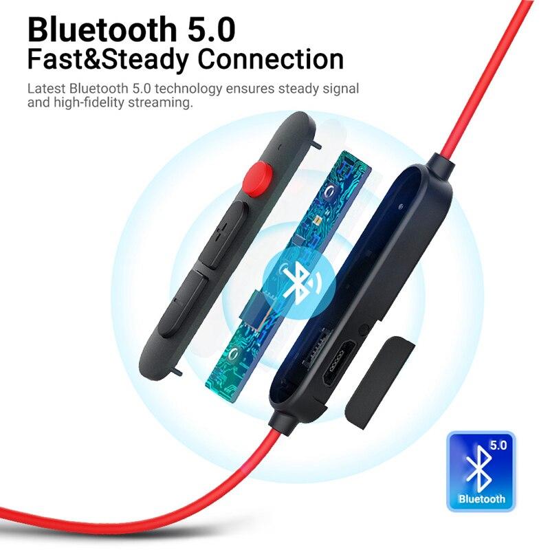 New Langsdom L80 Bluetooth Earphone Headset 3 EQ Sound Modes IPX6 Waterproof Sport Wireless Earphones fone de ouvido bluetooth
