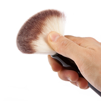 Original Huamianli High Quality Professional 3 Colors Powder Foundation Makeup Brushes Cosmetic Make Up Tool