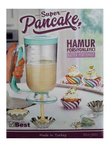 Super Pancake Maker Muffin Dough Dispenser Muffin Aid Pastry Jug Mixing Baking Tool