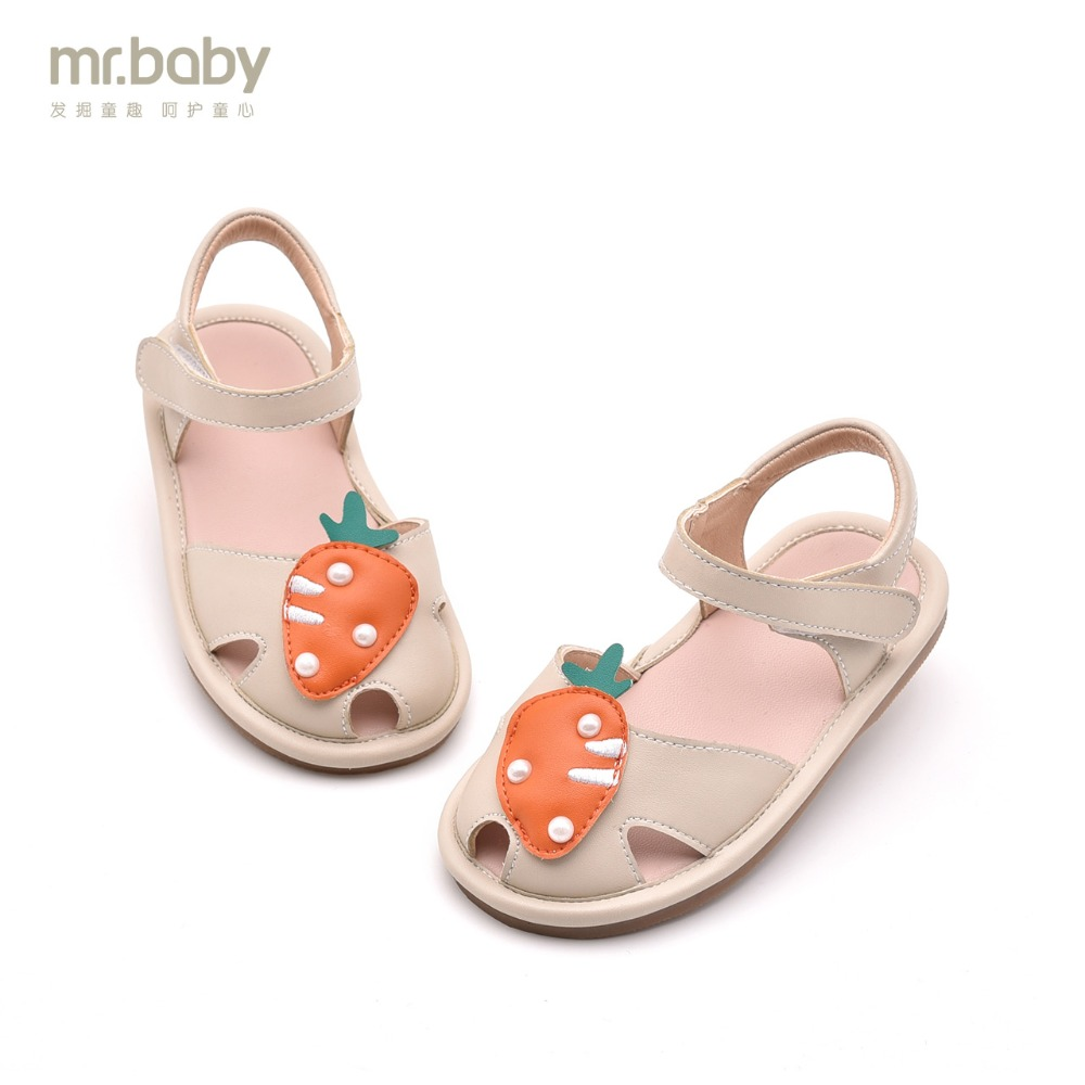 Mr.baby Original children's shoes 2018 Summer New Lovely Fun Carrots Baby Sandals Toddler shoes