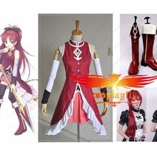 Puella Magi Madoka Magica Kyoko Sakura Cosplay Costume Cloth
