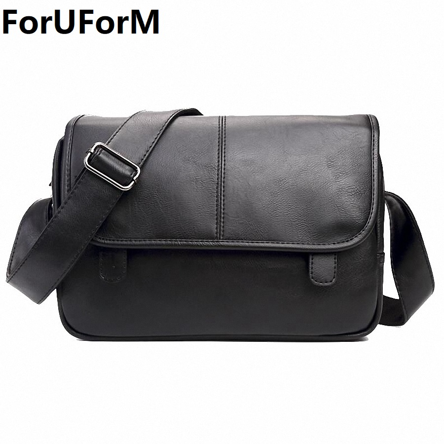 wholesale price good quality men's messenger bags pu leather travel bag luxury pretty style shoulder bags drop shipping wholesale luxury professional protable trumpet bag 600d soft pocket case durable cover good quality backpack shoulder withstrap