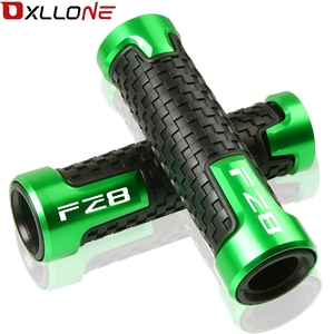 """Image 2 - Universal Accessories 7/8""""22mm CNC Motorcycle Aluminum Anti Skid scooter Handlebar Hand Grips Hand Bar For FZ8 F Z8 2011 2016"""