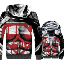 Superman Super hero jackets coats men thick zipper turn-down collar brand tracksuits new arrival 3D printed hooded hoodies 2018