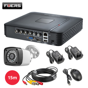 Image 3 - FUERS 4.0MP 4CH 5in1 AHD DVR Surveillance  CCTV Security System 1520P Waterproof Camera CCTV Video HDMI With 1TB 2TB HDD DIY Set