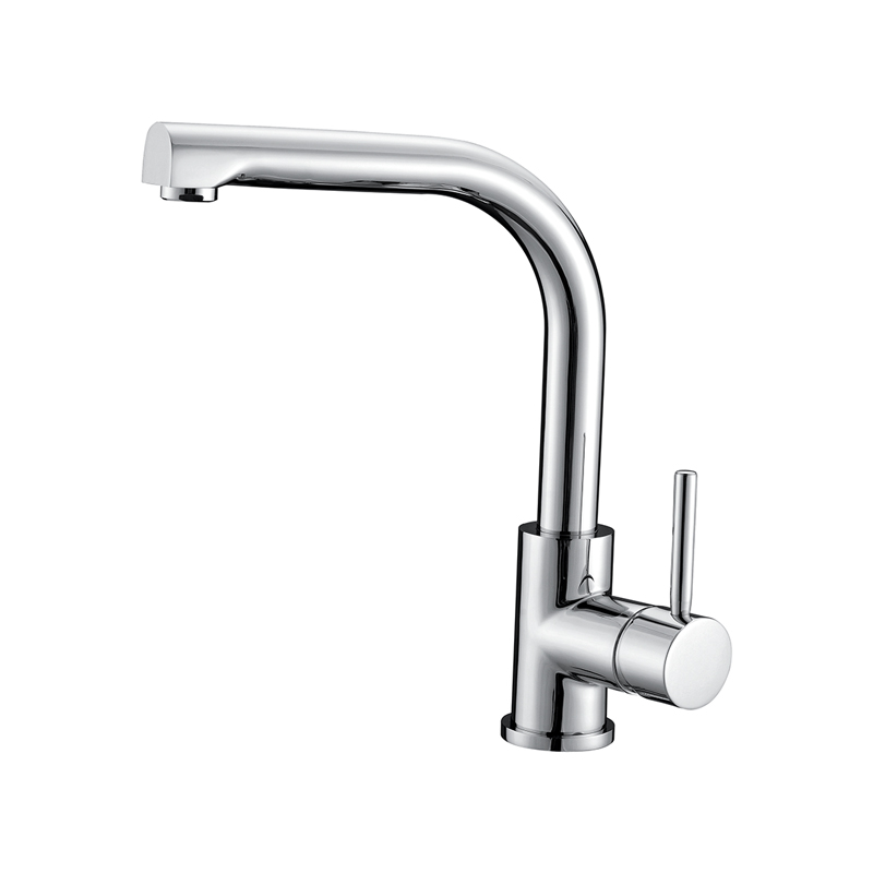 Luxury Quality Modern Design Pull Out Pure Brass Kitchen Water Faucet Chrome Kitchen Pure Drinking Water