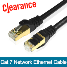 Cat7 Ethernet Cable RJ45 Computer XBOX Networking LAN Cords CAT 7 Jumper Gigabit Computer Copper Wire Core 10Gbps Network Cable