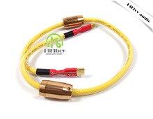 HiFi аудио усилитель высокое качество 4N OFC кабель USB с магнитным кольцом для HiFi ЦАП Усилители домашние 0.5 м 1 м 1.5 м 2 м USB A-USB B