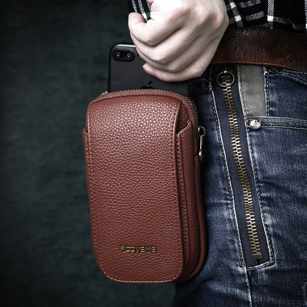 Bolsas de cuero para iPhone 7 7 Plus 6 6 s Plus funda para Samsung - Accesorios y repuestos para celulares - foto 6