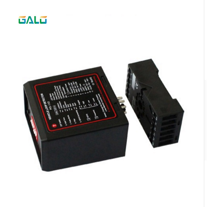 The Most Affordable Single-channel Loop Detector PD132 / Induction Sensor Of The Parking System 12VDC 24VDC 220VAC
