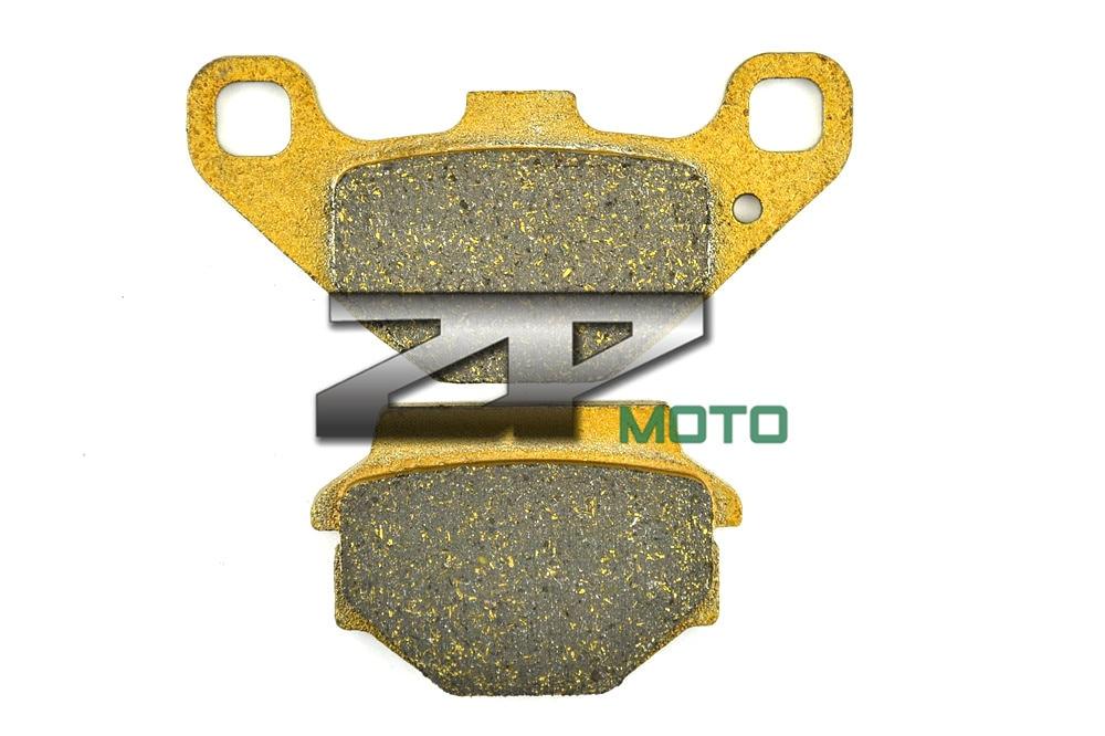 Organic (Kevlar) Brake Pads For ATV YFM 90 RZ/RA/RB/RD Raptor 10-13 YFM 300 GB/GD Grizzly 12-13 Rear Brand New High Quality