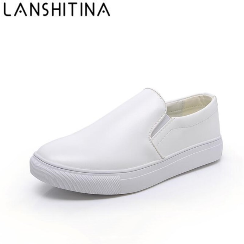 Mens Loafers Flats Moccasins Men Genuine Leather White Shoes Slip-on Breathable Men Casual Shoes Big Size 38-48 Sapato Masculino slip-on shoe