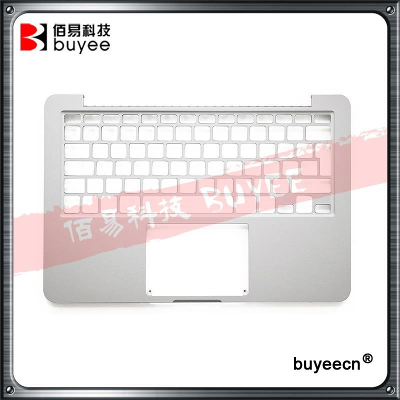 Original New 13 A1502 Palmrest 2015 For MacBook Retina Pro A1502 Topcase Top Case Cover UK English Verison Housing Replacement original new a1398 palmrest english verision 2012 for macbook pro retina 15 a1398 upper top case cover uk layout replacement