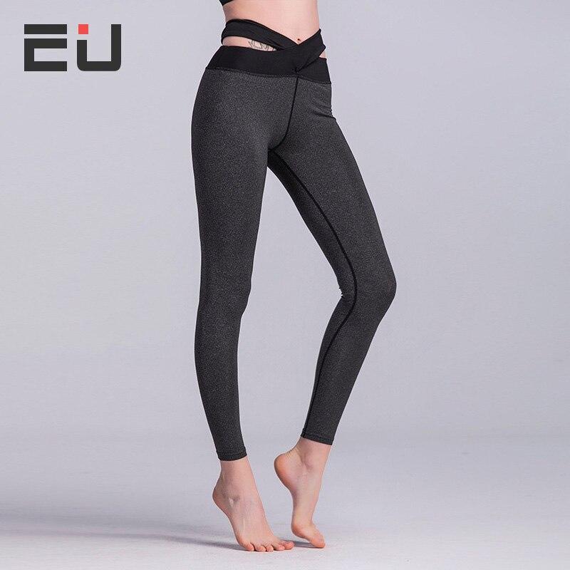 High Quality Sport Push Up Cross Back Wide Waist Yoga Gym Pants Women Yoga Leggings Fitness Running Tights Yoga Leggings