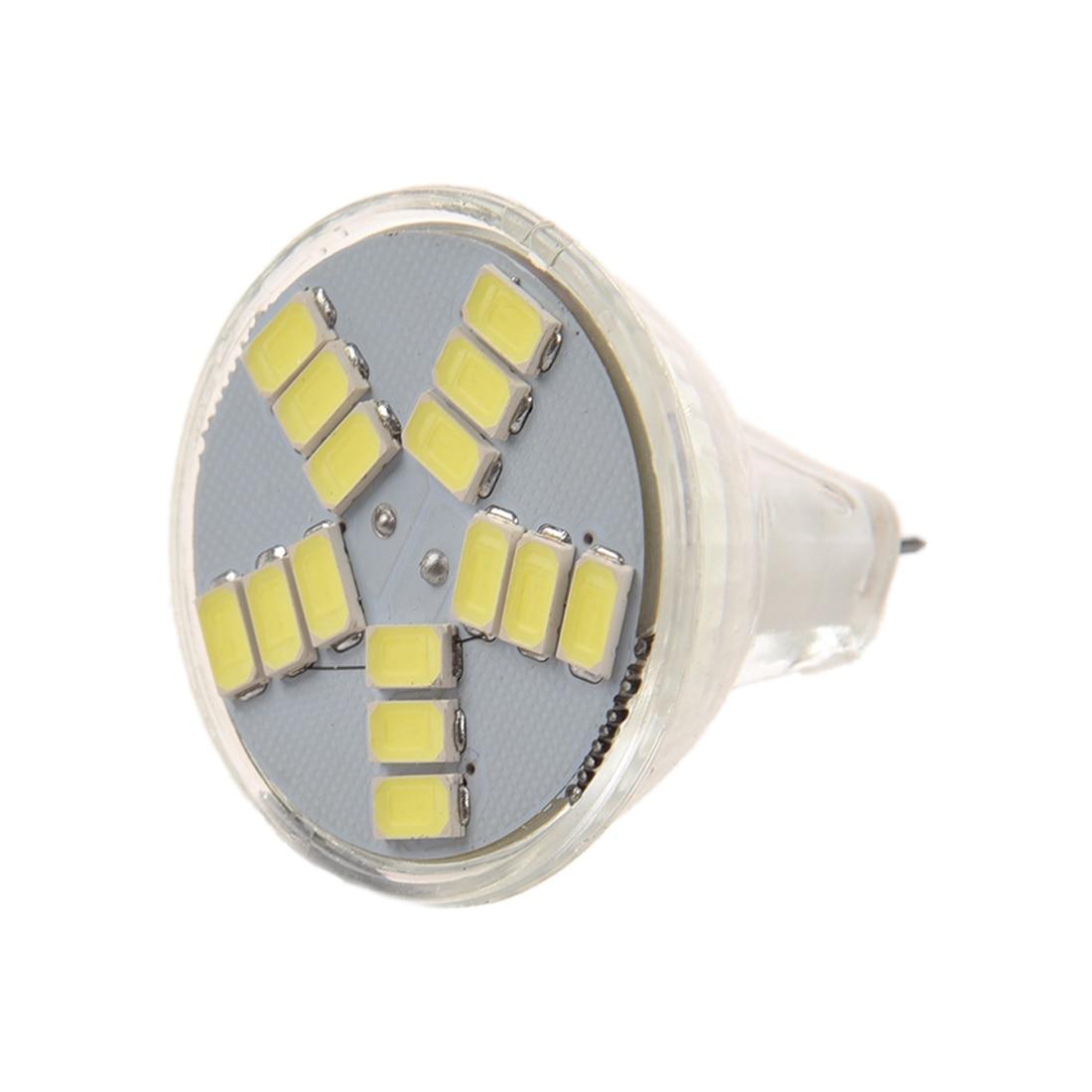 7W MR11 GU4 600LM LED Bulb Lamp 15 5630 SMD Light (White Light) luo db02 gu10 8w 600lm 3000k 16 x smd 5630 led warm white light spotlight silver 85 265v