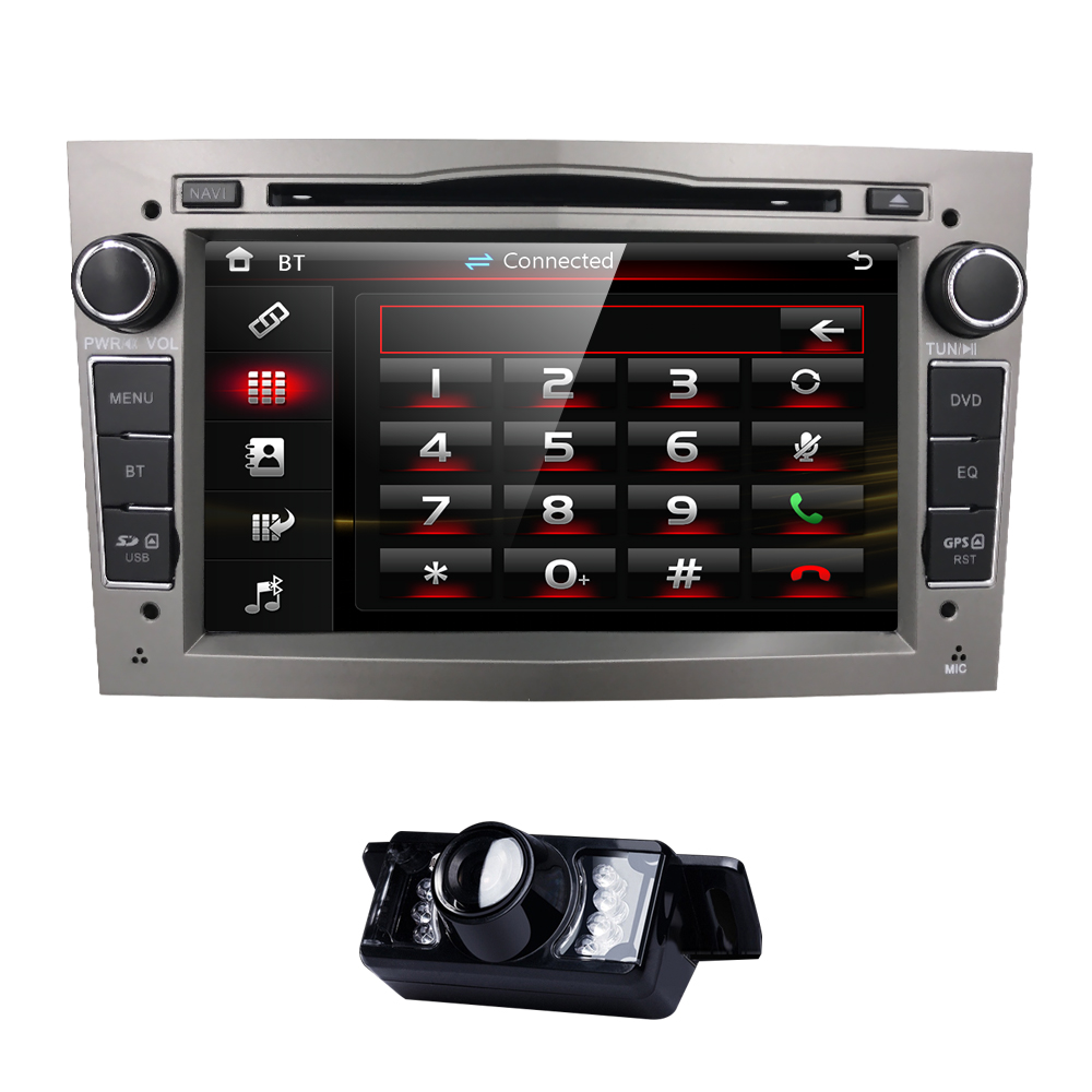2din 7 hd touchscreen cardvd player gps navigation system. Black Bedroom Furniture Sets. Home Design Ideas