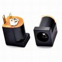 100 PCS DC-012 5.5*2.1mm/5.5x2.1mm DC 전원 소켓 커넥터 DC012 패널 장착 잭 어댑터 180 핀