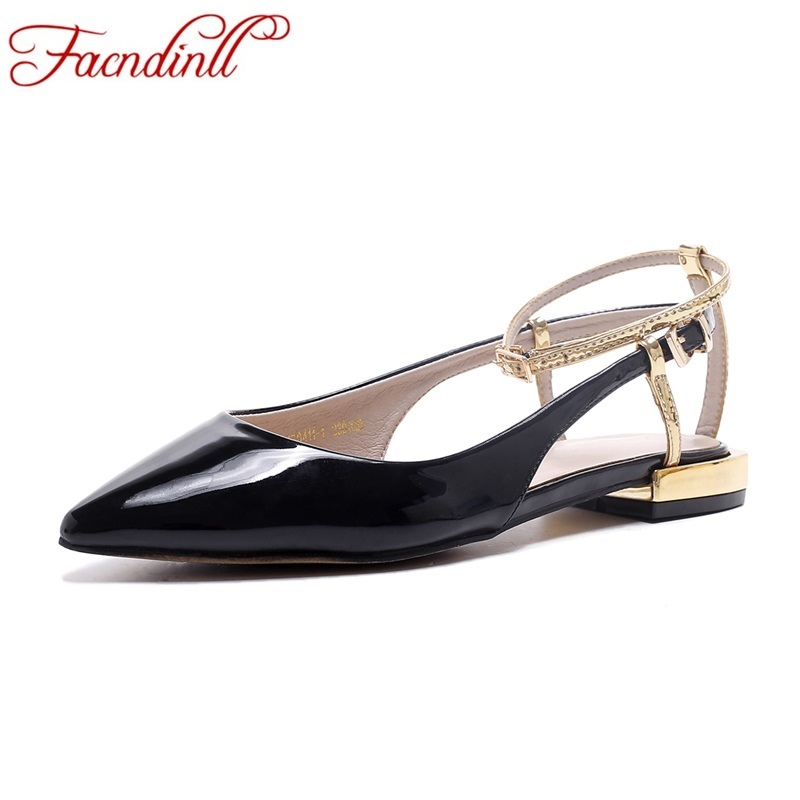 fashion women sandals dress shoes pointed toe gladiator sandalias women zapatos mujer women ankle buckle platform casual shoes big size 31 47 spring autumn women shoes fashion pointed toe ankle strap flats beading decoration flat sandals zapatos mujer