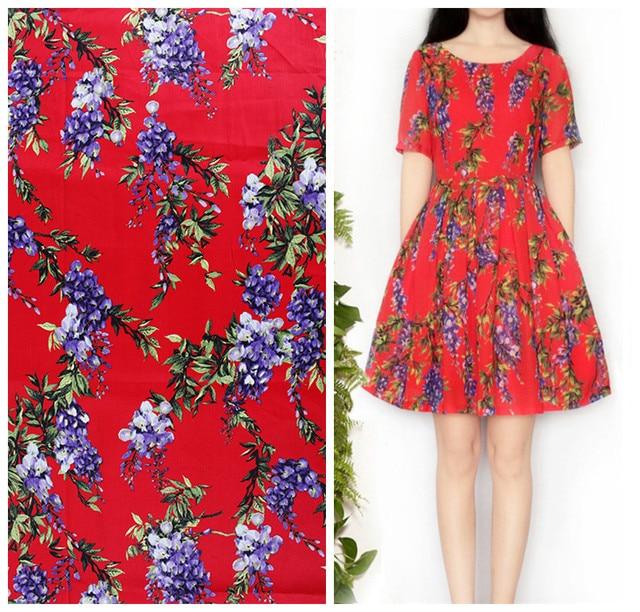 Aliexpress Com Buy New Floral Print Brand Cloth Dress Material