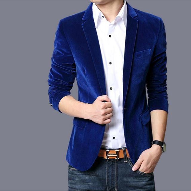Los hombres traje chaqueta de alta calidad chaqueta de traje de terciopelo  de invierno personalizar negocios 50ee0c2b7ce