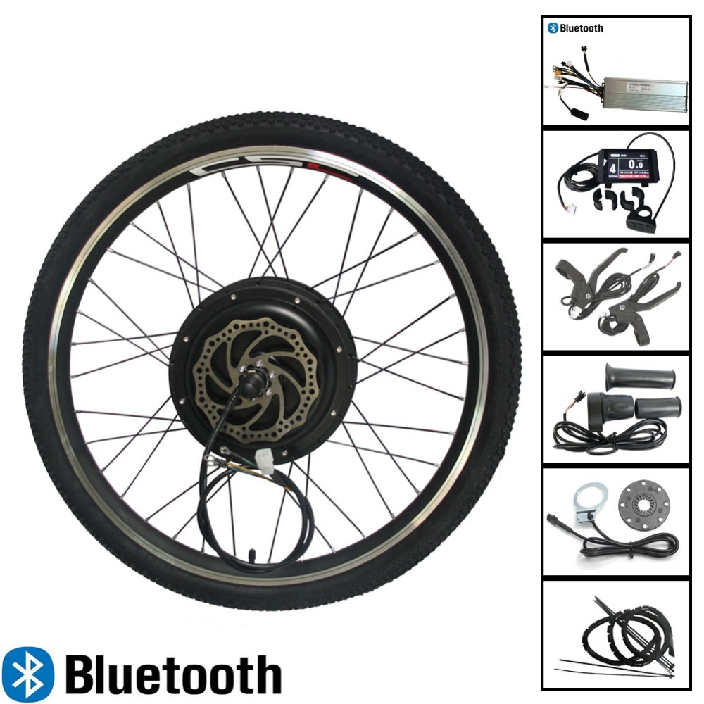 E BIKE 48V 1500W Electric Bike Kit Electric Bicycle Conversion Kit for 20 24 26 25
