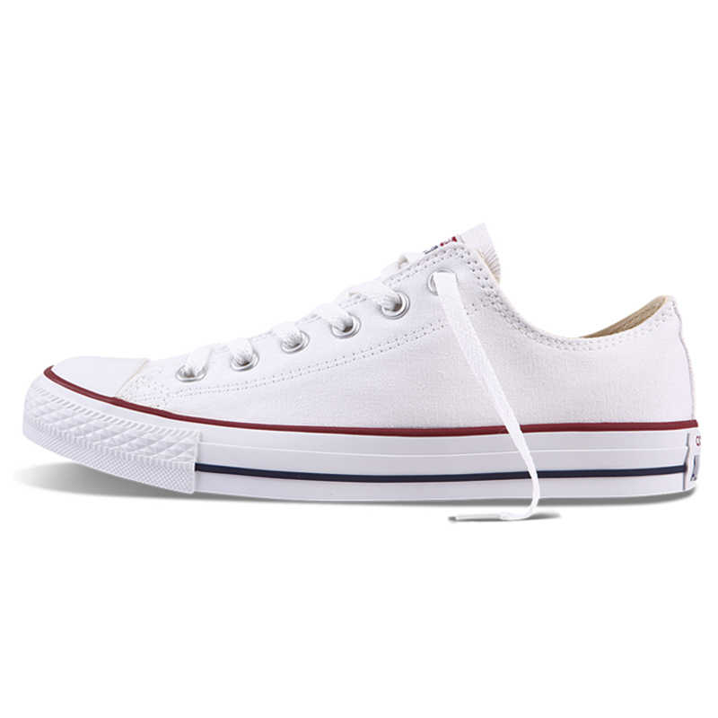 ... Authentic Converse ALL STAR Classic Breathable Canvas Low-Top  Skateboarding Shoes Unisex Anti-Slippery ... 5e8cce35b1f6