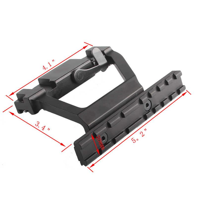 """טקטי AK 74 Rail צד הר סגנון 20 מ""""מ QD מהיר ניתוק היקף מסילת נעילת הר בסיס אקדח אביזרי AK 47 74U RL2-0022"""