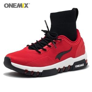Image 2 - Yeni onemix kış koşu ayakkabıları erkekler için yürüyüş ayakkabısı açık ayakkabı kış ayakkabı koşu sneakers rahat koşu ayakkabıları