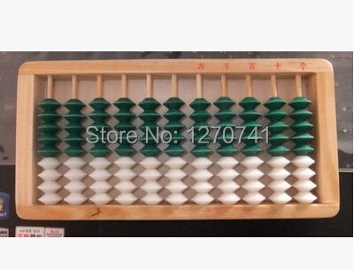 bank,accountant Xmf002 Easy To Lubricate Sensible 11 Column Wood Frame Abacus Professional Chinese Soroban Tool In Mathematics Education For Student Toys & Hobbies