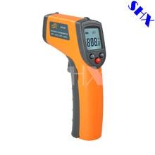 GS320 Digital Infrared Thermometer Professional Non contact Temperature Tester IR Temperature Laser Gun Device Range 50