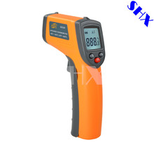 Promo offer GS320 Digital Infrared Thermometer Professional Non-contact Temperature Tester IR Temperature Laser Gun Device Range -50 to 360C