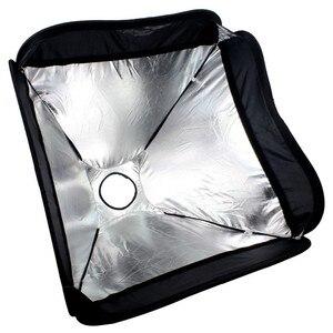 Image 4 - Godox سوفت بوكس 50x50 سم الناشر عاكس ل Speedlite ضوء فلاش المهنية صور استوديو فلاش كاميرا صالح بونز Elinchrom