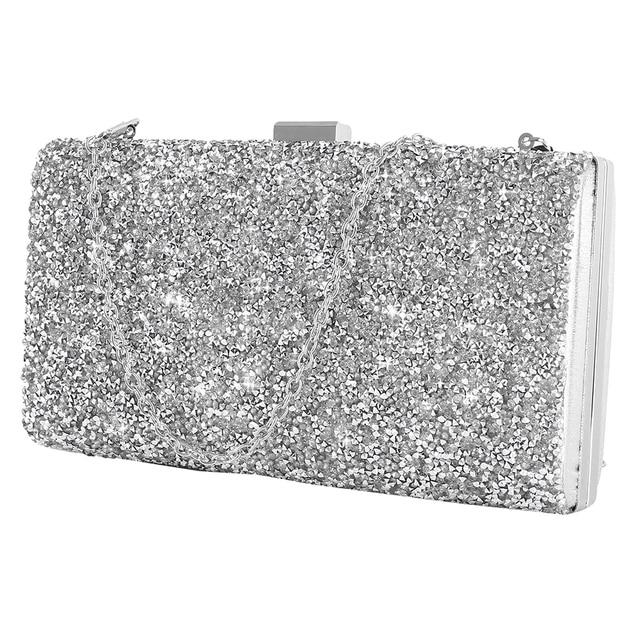 Women Clutch Luxury Bags for Women 2019 Evening Handbag Crystal Day Glitter Wedding Party Banquet Purse 1